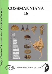 cossmanniana volume 16